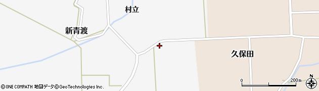 山形県酒田市新青渡東割31周辺の地図