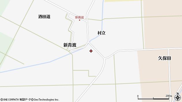 山形県酒田市新青渡村立78周辺の地図