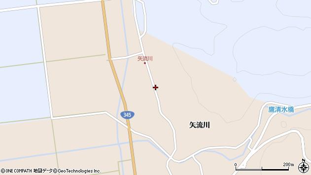 山形県酒田市生石矢流川321周辺の地図