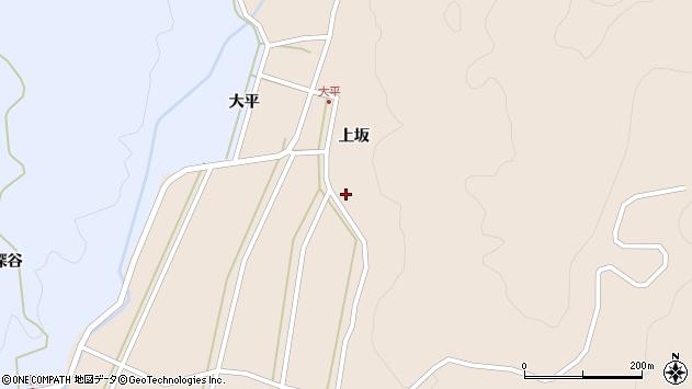 山形県酒田市生石上坂112周辺の地図