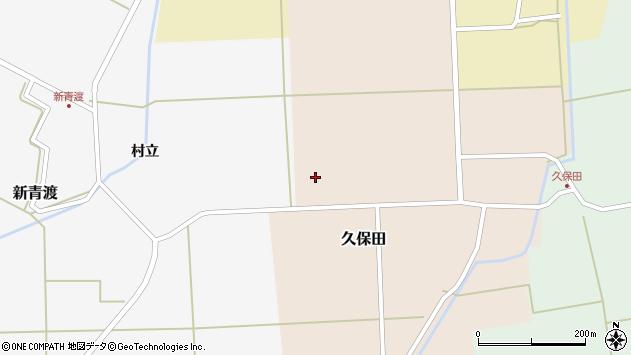 山形県酒田市久保田村西65周辺の地図