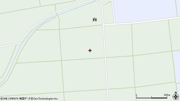 山形県酒田市横代高阿弥田周辺の地図
