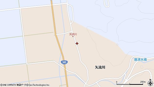 山形県酒田市生石矢流川326周辺の地図