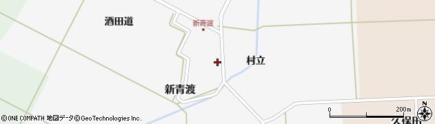 山形県酒田市新青渡村立66周辺の地図