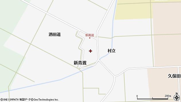 山形県酒田市新青渡村立68周辺の地図