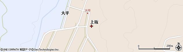 山形県酒田市生石上坂116周辺の地図