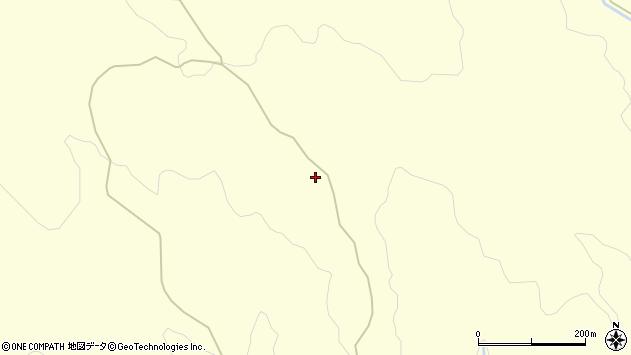 山形県酒田市北俣笹森周辺の地図