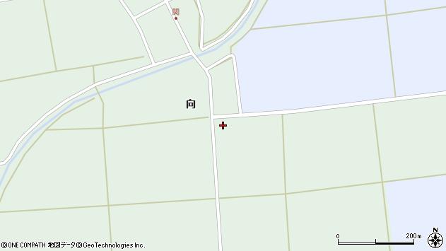 山形県酒田市関向126周辺の地図