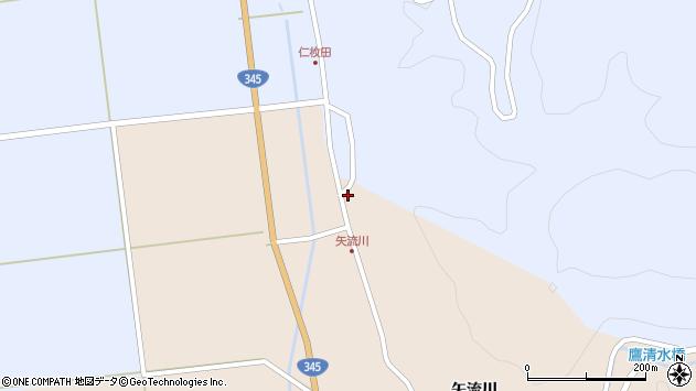 山形県酒田市生石矢流川340周辺の地図
