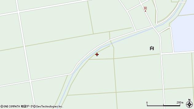山形県酒田市関向294周辺の地図