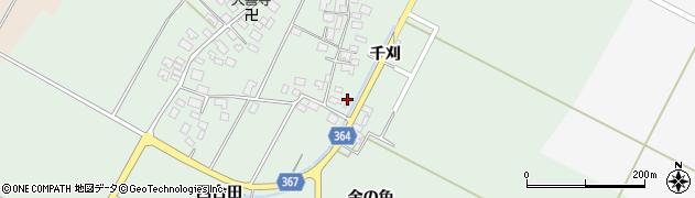 山形県酒田市漆曽根四合田39周辺の地図
