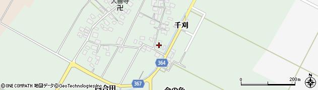 山形県酒田市漆曽根四合田27周辺の地図