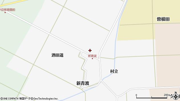 山形県酒田市新青渡酒田道5周辺の地図