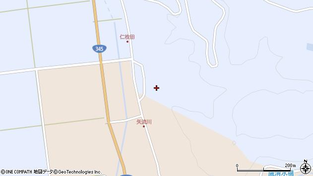 山形県酒田市北沢仁枚田20周辺の地図