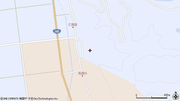 山形県酒田市北沢仁枚田21周辺の地図