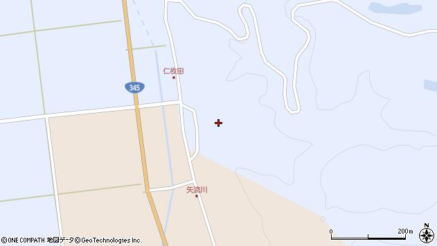 山形県酒田市北沢仁枚田22周辺の地図