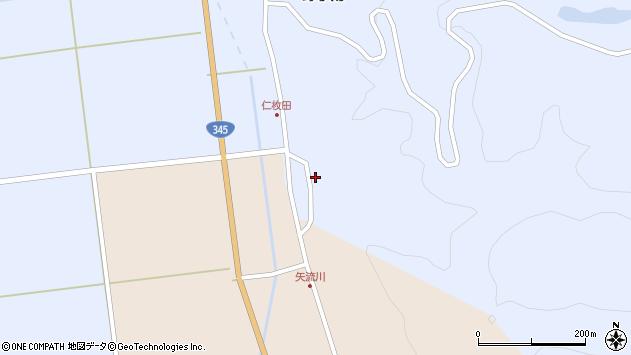 山形県酒田市北沢仁枚田28周辺の地図