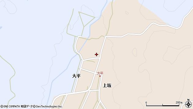 山形県酒田市生石大平87周辺の地図