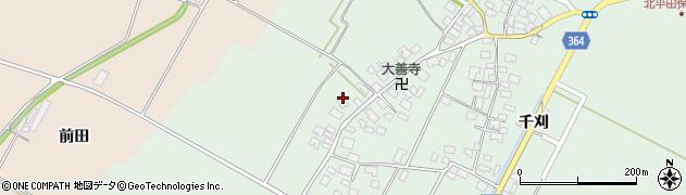 山形県酒田市漆曽根四合田176周辺の地図
