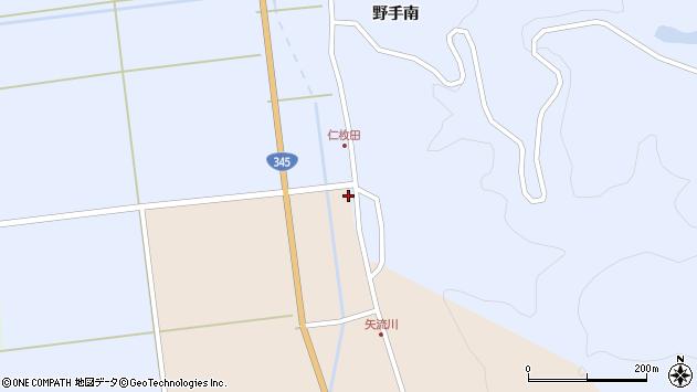 山形県酒田市生石関道2周辺の地図