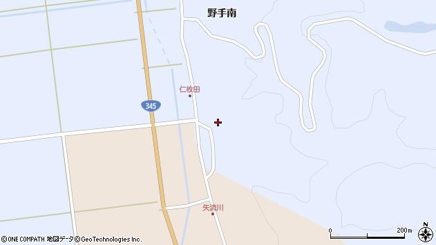 山形県酒田市北沢仁枚田48周辺の地図