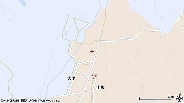 山形県酒田市生石上坂150周辺の地図