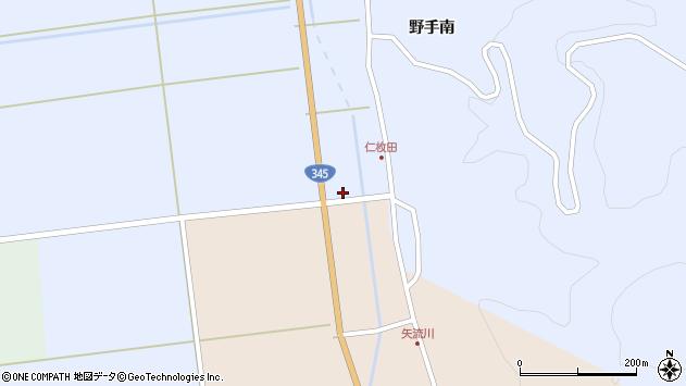 山形県酒田市北沢鍋倉551周辺の地図