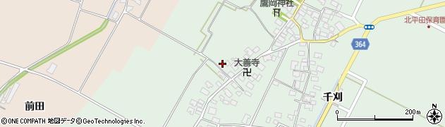 山形県酒田市漆曽根四合田139周辺の地図
