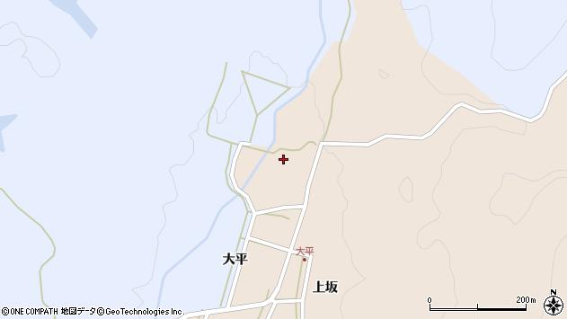 山形県酒田市生石大平94周辺の地図