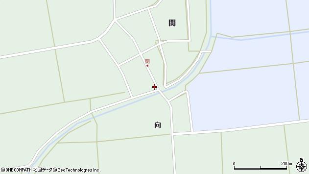 山形県酒田市関村の内217周辺の地図