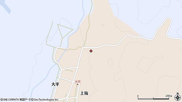 山形県酒田市生石上坂159周辺の地図