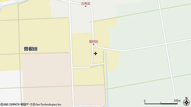 山形県酒田市曽根田大坪26周辺の地図