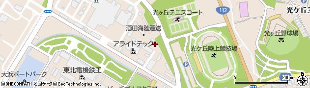 山形県酒田市大浜103周辺の地図