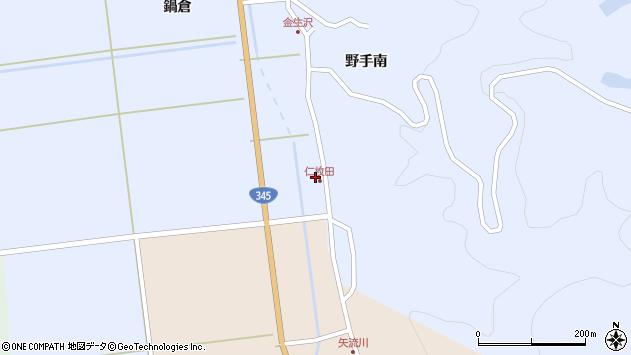 山形県酒田市北沢鍋倉547周辺の地図