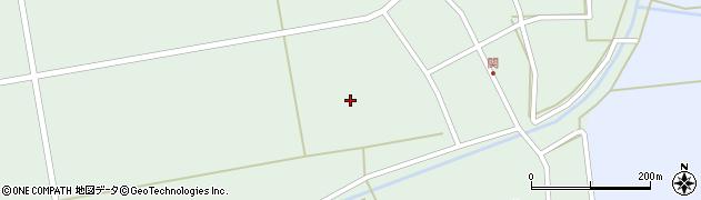 山形県酒田市関家之前周辺の地図