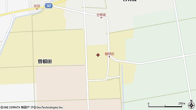 山形県酒田市曽根田大坪72周辺の地図