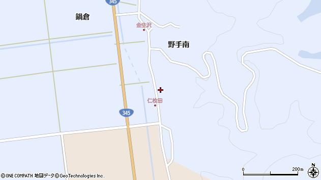 山形県酒田市北沢野手南4周辺の地図