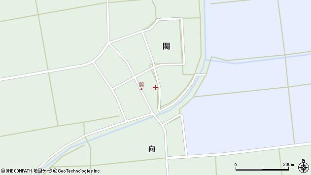 山形県酒田市関村の内周辺の地図