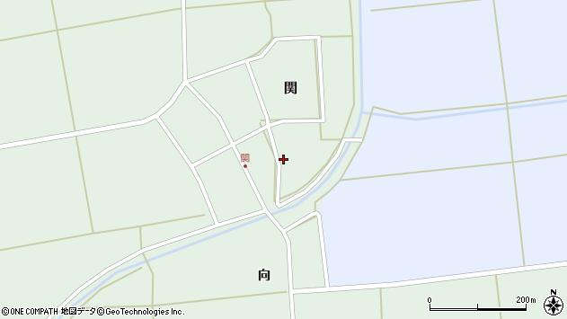 山形県酒田市関村の内61周辺の地図