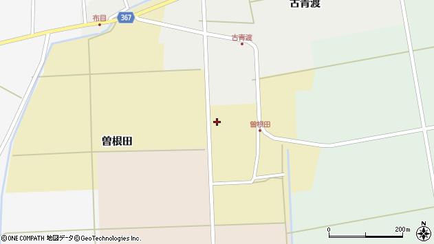 山形県酒田市曽根田大坪127周辺の地図