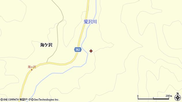 山形県酒田市北俣川向周辺の地図