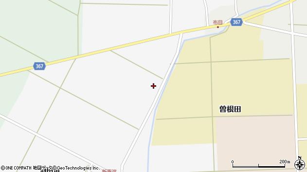 山形県酒田市新青渡柿ノ花周辺の地図