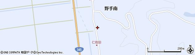 山形県酒田市北沢野手南26周辺の地図