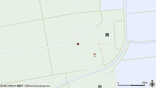 山形県酒田市関村の内106周辺の地図