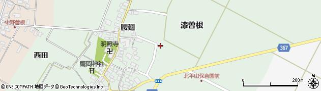 山形県酒田市漆曽根亀田75周辺の地図