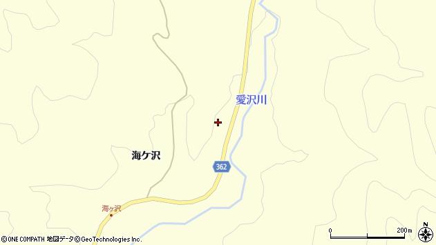 山形県酒田市北俣海ケ沢10周辺の地図