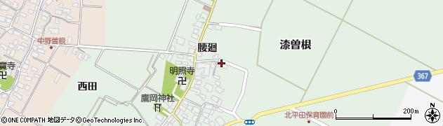 山形県酒田市漆曽根腰廻35周辺の地図