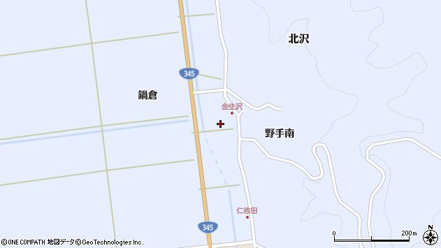 山形県酒田市北沢鍋倉367周辺の地図