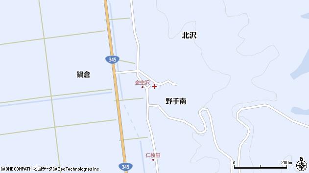 山形県酒田市北沢野手南60周辺の地図