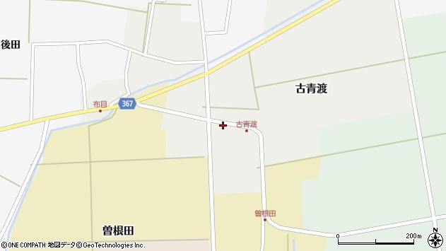 山形県酒田市古青渡古青渡86周辺の地図